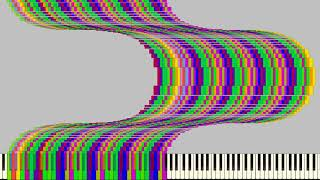 [Black Midi] Tetris blocks arts