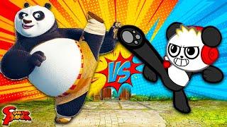 COMBO PANDA VS KUNG FU PANDA! Let's Play Kung Fu Panda Videogame