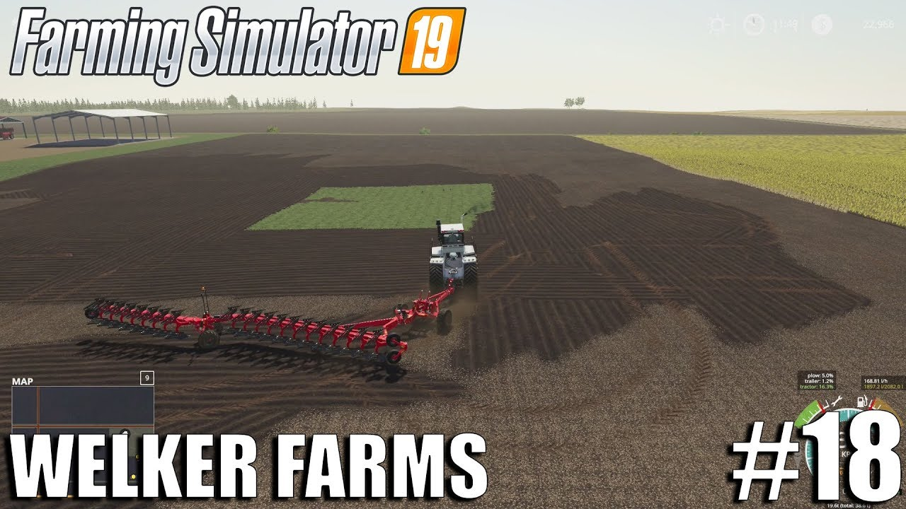 WELKER FARMS | FS19 Timelapse #18 | Farming Simulator 19