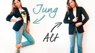10 Jahre jünger aussehen durch 5 kleine Änderungen im Outfit | natashagibson