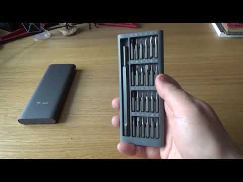 Xiaomi Wiha (OLLIVAN) Precision Screwdriver Set 24 In 1 Review - Repair Kit For Cameras, Phones Etc