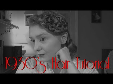 1930's Hairstyle Tutorial