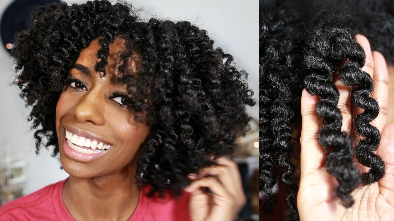 flat twist natural 4c hair