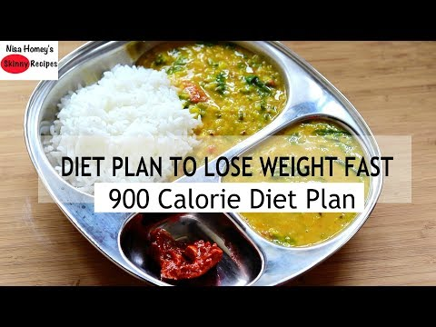 Diet Plan To Lose Weight Fast – 900 Calories – Full Day Meal Plan For Weight Loss | Skinny Recipes