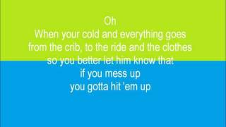 Repeat youtube video Hit 'em up Style (Oops!) Video Lyrics by Cantrell Bleu