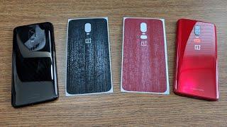 OnePlus 6T & 6 dbrand skin installation! Black Dragon Skin