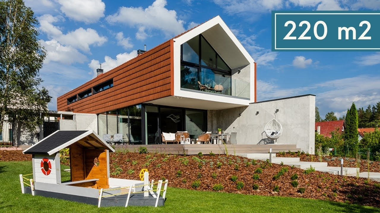 Luksusowy dom nad jeziorem 5 600 zł/m2  - Pomysł na Dom #20