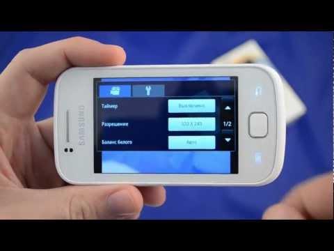 Обзор телефона Samsung Gio ( S5660 ) от Video-shoper.ru