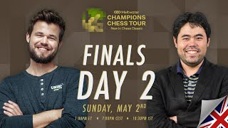 $1.5M Meltwater Champions Chess Tour: New In Chess Classic | Finals Day 2 | P.Leko & T.Sachdev