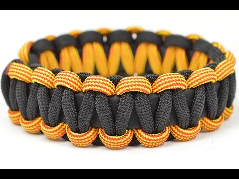 Make a Buckle-free, Stretchy Paracord Survival Bracelet - BoredParacord.com