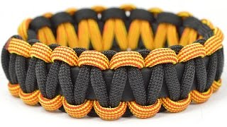 Make a Buckle-free, Stretchy Paracord Survival Bracelet - BoredParacord.com