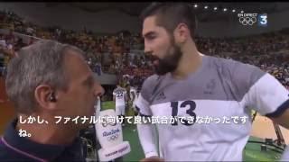リオ五輪ドイツ戦後のカラバティッチとナルシスのインタビュー