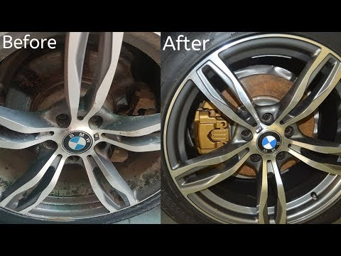 How To Clean Inside Of Alloy Wheels