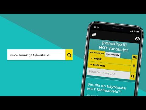 Sanakirja.fi tuo Gummeruksen Keltaiset sanakirjat nettiin