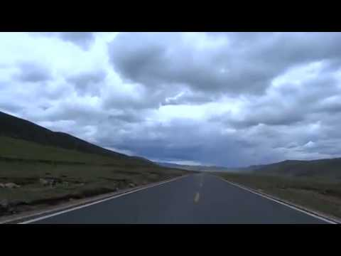 HD Bicycle Cycling in Tibet micro documentary