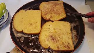 CINNAMON FRENCH TOAST. Breaĸfast Recipe.