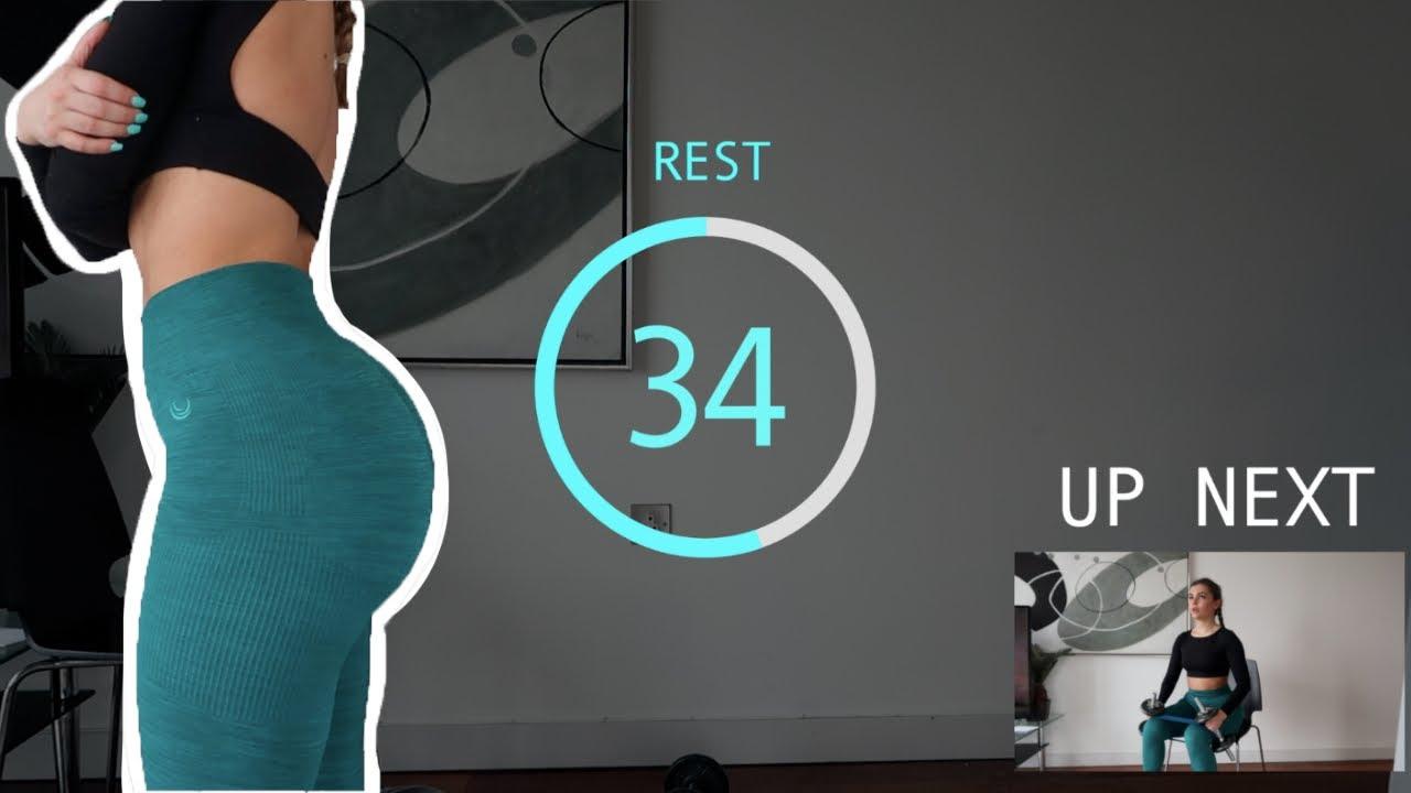 20 min   HOME Glute&Leg Workout!! // Follow Along