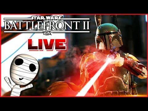 Der beste Kopfgeldjäger der Galaxis! 🔴 Star Wars: Battlefront II // PS4 Livestream thumbnail