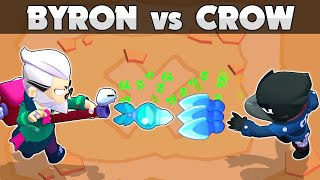 🤢BYRON vs CROW🤢The most powerful poison🤢1vs1
