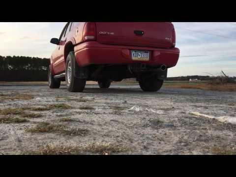 98 Dodge Durango 5.2L Muffler Delete Exhaust