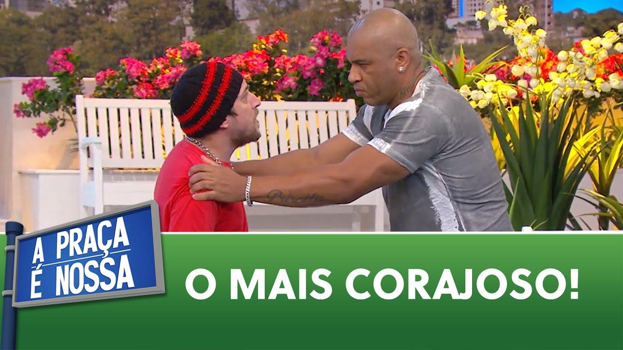 Sobra coragem e falta noção   A Praça é Nossa (22/07/21)