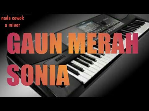 karaoke-gaun-merah(sonia)nada-cowok/a-minor