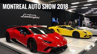 2018 Montreal Auto Show / Salon International de l'Auto de Montréal 2018 - Walk Tour