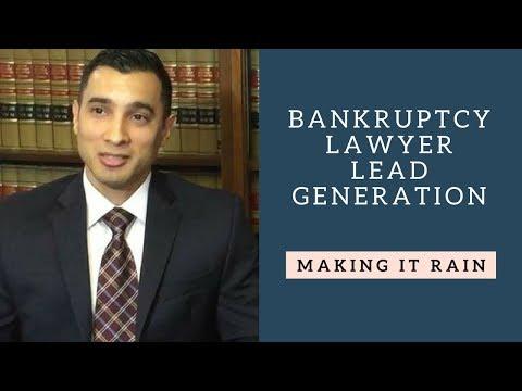 Bankruptcy Attorney Lead Generation - Website - SEO - DustinSanchezTV.com