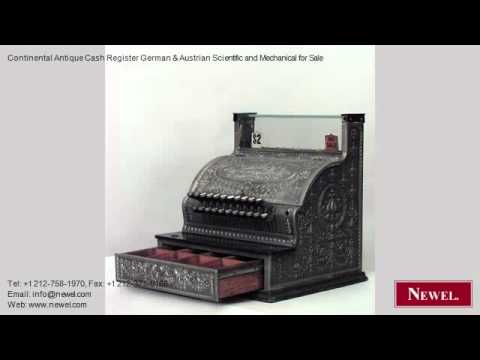 Continental Antique Cash Register German & Austrian Scientif