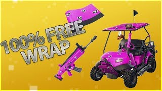 100% Free Cuddle Hearts Wrap Fortnite Partager The Love Event