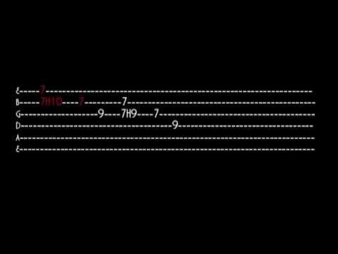 Jack Johnson - Dreams Be Dreams (interactive guitar tab) - YouTube