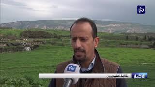 وفد صحفي يتجول في أراضي الباقورة المستعادة - (10-2-2019)