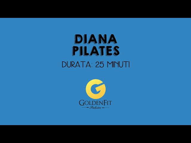 Pilates Con Diana, Lezione 1