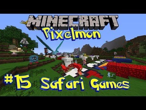 Pixelmon Safari Games [Ep 15] - Safari Saturday Returns!