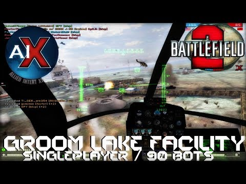 Battlefield 2: AIX 2.0 - Groom Lake Facility (90 Bot Singleplayer)