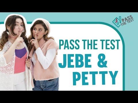 Jebe & Petty Menjawab Kuis Pengetahuan Umum di Pass The Test. Seru!