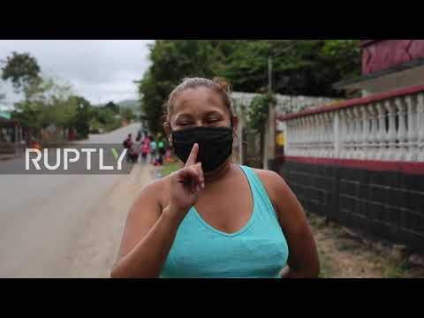 Honduras/Guatemala: Thousands of US-bound migrants break through police line, cross border