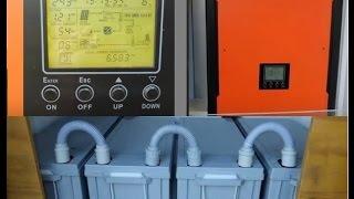 Solar Hybrid Inverter review - Voltronic Infini MPP Inverter with battery backup