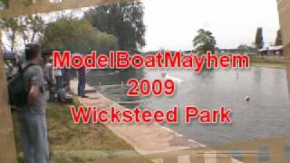Model Boat Mayhem 2009