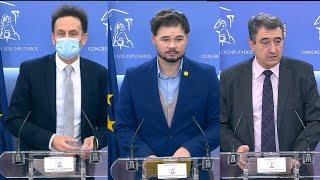 PNV anuncia su apoyo a los PGE, ERC un preacuerdo y Cs no se descuelga