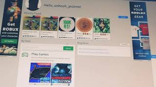 TRYING TO GET SCAMMED BY ROBLOX FREE ROBUX GAMES!!!!