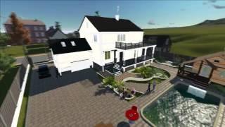 Проект частного дома от Дизайн- студии