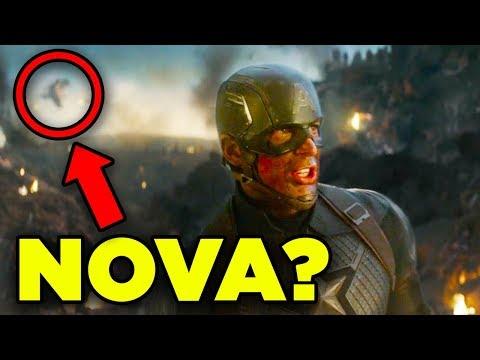 Avengers Endgame NOVA Cameo Search! DEBUNKED?