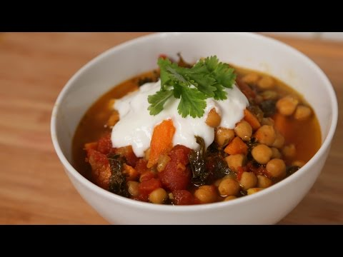 Chickpea Curry | Slow Cooker Meals