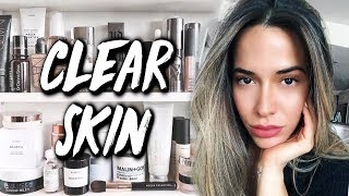 UPDATED SKINCARE ROUTINE FOR CLEAR AND GLOWY SKIN 2018