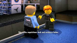 LEGO City Undercover (Wii U) - Complete Playthrough - Chapter 1