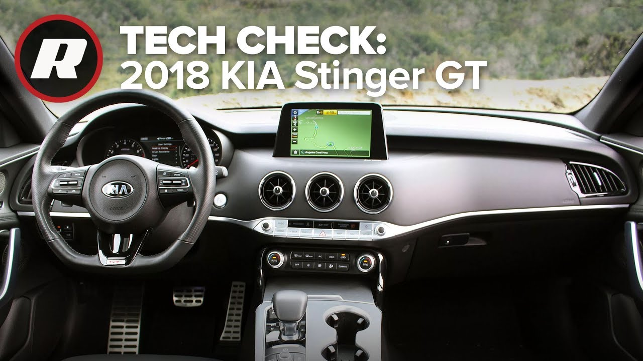 Tech Check: UVO in the 2018 Kia Stinger GT