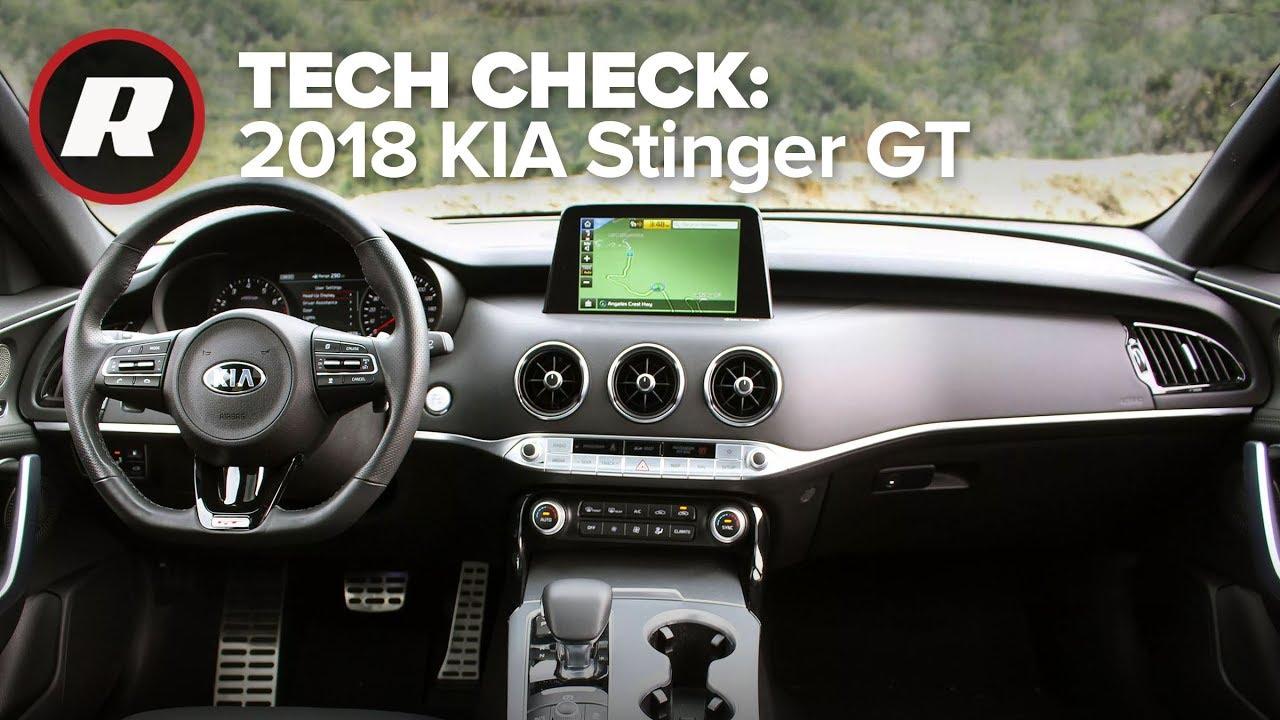 Tech Check: UVO in the 2018 Kia Stinger GT