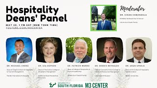 Hospitality Deans' Panel: The Impact of COVID-19 on Hospitality and Tourism