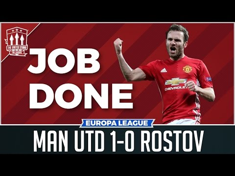 Manchester United 1-0 FC Rostov | MATA GOAL WINS IT!